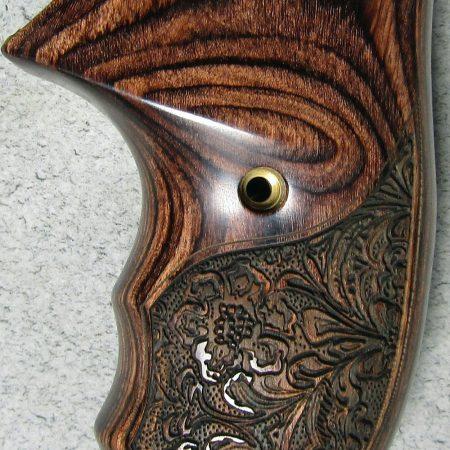 Taurus Judge Tracker Altamont's Fingergrooved Engraved Walnut