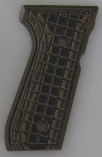 Beretta 92 & 96 G10 Tactical Pistol Grip Grappler Texture Green Black Pachmayr 61090