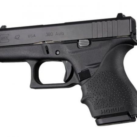 Glock 42 & 43 Black Hogue HandAll Beavertail Grip Sleeve #18200